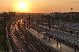 Jumătate din rețeaua feroviară europeană este electrificată