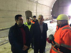 Ministrul Transporturilor, Răzvan Cuc, promite că până la finele lui 2019 pe tronsonul Coşlariu-Simeria se va circula cu 160 km/h