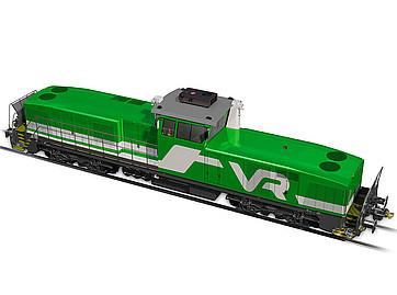 VR a selectat firma Stadler pentru furnizarea de locomotive diesel de manevră