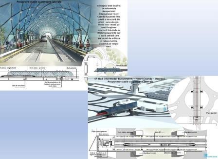 Trenul Gara de Nord – Aeroportul Otopeni – S-a emis autorizația de construire