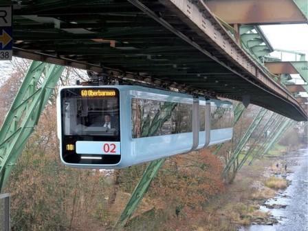 Monorailul suspendat Schwebebahn din Wuppertal adoptă ETCS nivel 3 pentru controlul vehiculelor