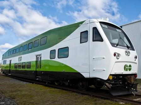 Autoritatea de transport Metrolinx din Ontario comandă vagoane etajate