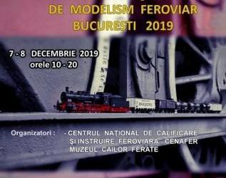 07-08 decembrie 2019 Expoziția de modelism feroviar, București