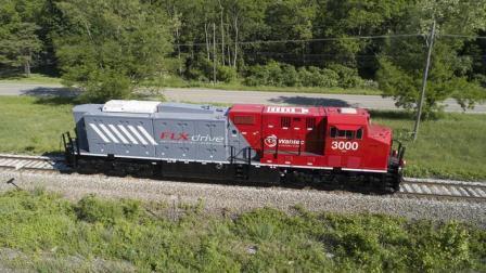 BNSF și Wabtec se pregătesc pentru testarea locomotivei cu baterii electrice