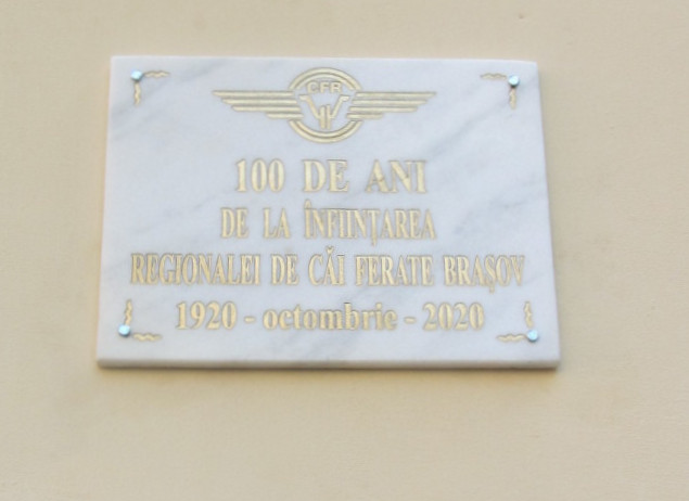 20 octombrie 2020 – Aniversarea a 100 de ani de la înființarea RCF Brașov