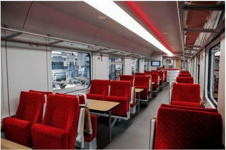 Vagoanele restaurant ale PKP Intercity au fost recondiționate