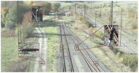 Monitorizarea stării liniilor aeriene feroviare cu aparate foto drone