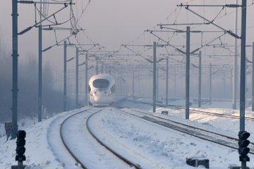 O nouă linie ferată de mare viteză inaugurată de China