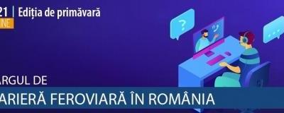 20-21 aprilie 2021 – Târgul de Carieră Feroviară în România