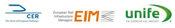 Scrisoare deschisă a CER, EIM și UNIFE către președinții UE privind prelungirea Anului european al căii ferate
