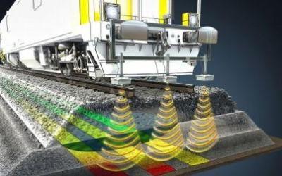 Radarul care pătrunde la sol aduce un salt tehnologic în inspecția căii ferate