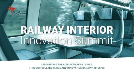 9 – 10 noiembrie 2021, Berlin, Germania, Railway Interior Innovation Summit