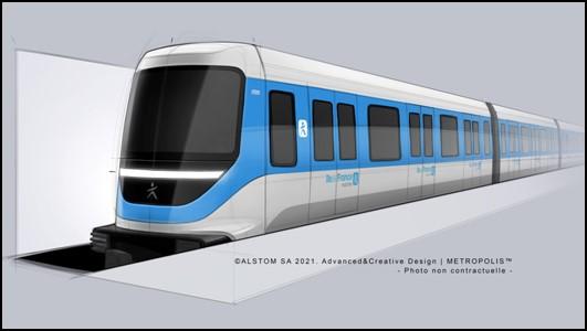 ALSTOM a câștigat contractul pentru sistemul de metrou 100% automat pentru linia 18 a rețelei Île-de-France